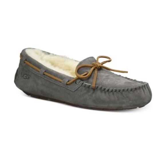UGG Shoes   Grey Ugg Moccasin Slippers